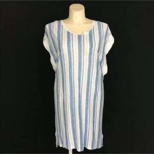 New Free People Dress Cover Up Hi Low Tunic Comfy